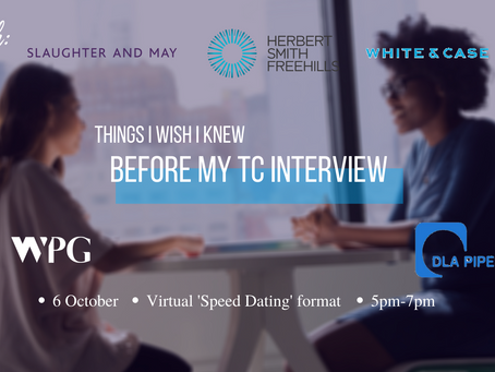 THINGS I WISH I KNEW BEFORE MY TC INTERVIEW