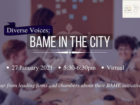 Diverse Voices: BAME In The City