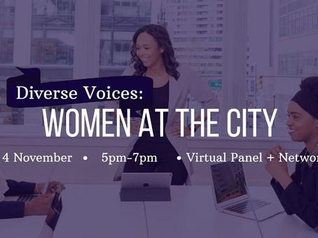 Diverse Voices: Women At The City