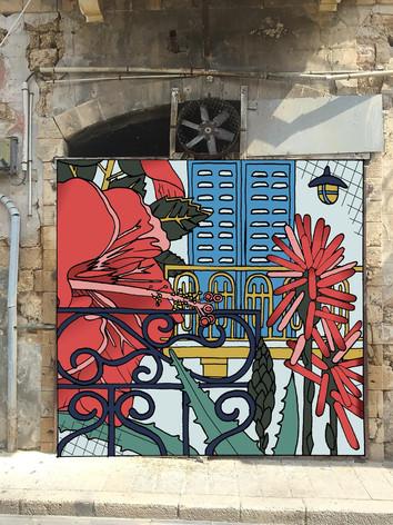 Al Salam Bougainvilliea Door