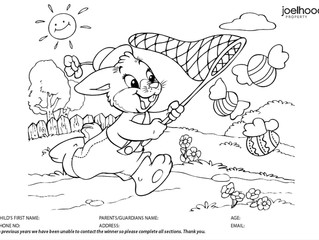 Easter Colouring Competition 2020