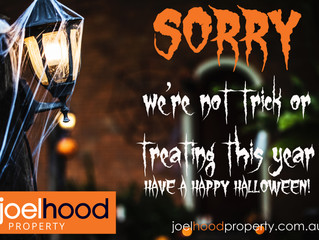 Halloween Trick or Treat - Welcome/Sorry Free Downloadable Posters!