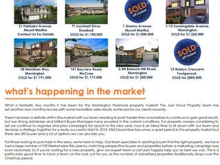 Joel Hood Property Market Report Summer 2017