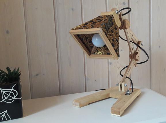Batik table lamp