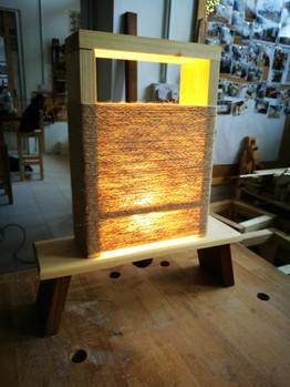 Zen table lamp
