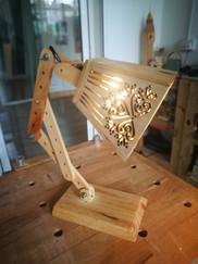 Classic ruler table lamp
