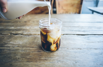Coffee, Iced, Milk, sweet, Baking, Chloe's Kitchen