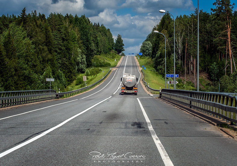 (Canvas) A Cesis Highway - Latvia (PMC3386)