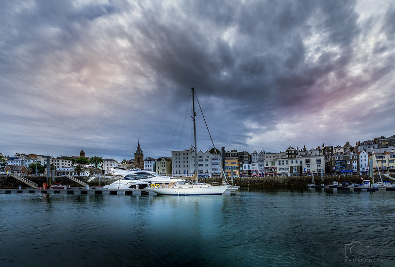 (Canvas) Yachts at St. Peter Port, Guernsey (PCP3893)