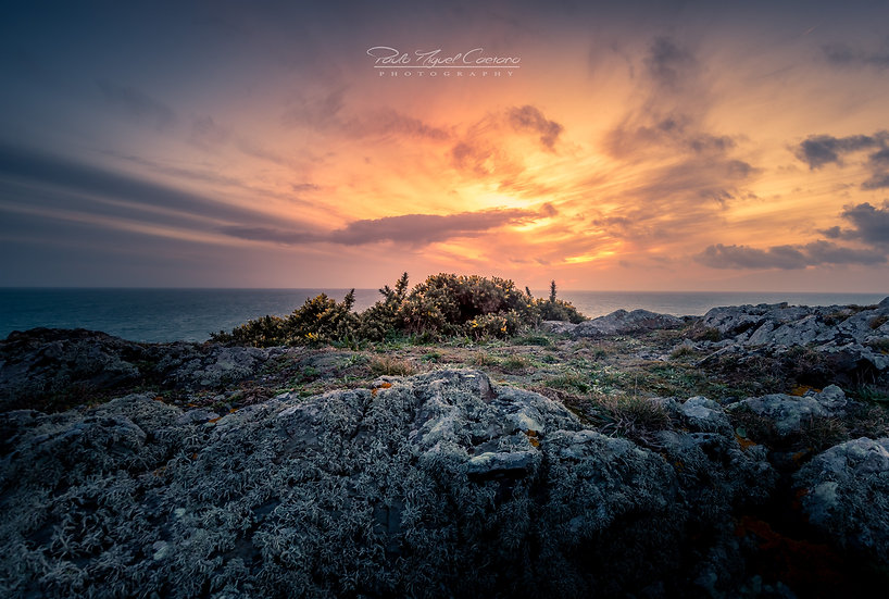 Winter Sunset - Pleinmont - Guernsey (PCO4727)