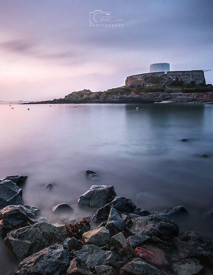 (Rolled) Rocky Fort Grey - Guernsey (PCO6062)