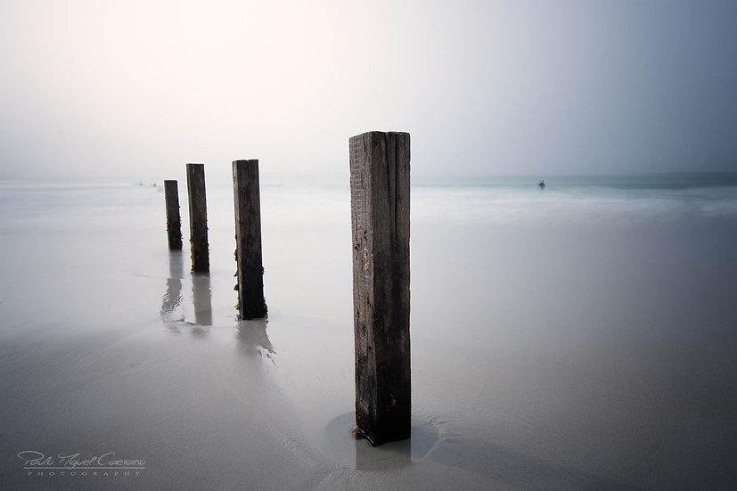 (Rolled) Vazon Bay Groynes - Guernsey (PCO0995)