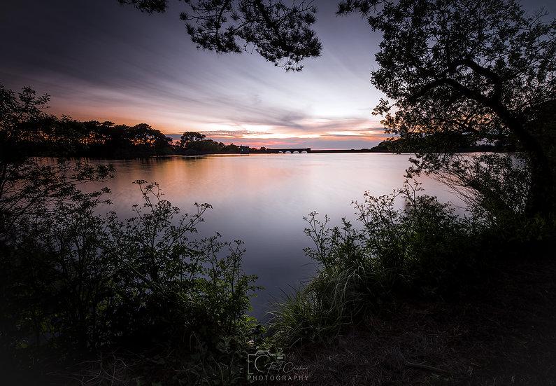 (Photo Framed) Twilight at St. Saviours Reservoir (PCP1386)