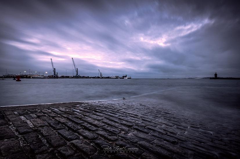 Storm Brewing Over Saint Peter Port Harbour (PMC1828)