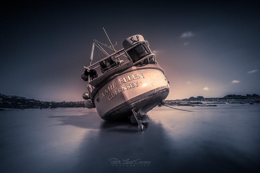 (Canvas) Amie Ellen - Guernsey Fishing Boat (PMC1924.3)