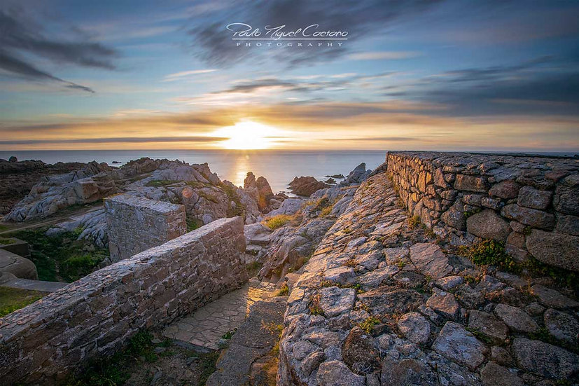 (Rolled) A Fort Hommet Sunset - Guernsey (PMC1275)