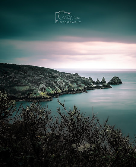 (Canvas)Pea Stacks - Days Before The Lockdown - Guernsey (PCO7941)