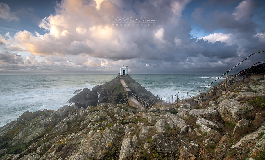 (Rolled) Jerbourg Foghorn - St. Martin - Guernsey (PCO2284)