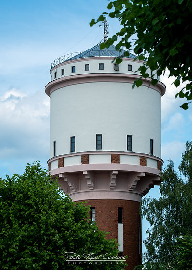 (Rolled) Cesis Water Tower - Latvia (PMC1912)