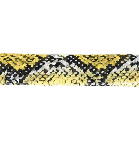 Foulard Python Jaune
