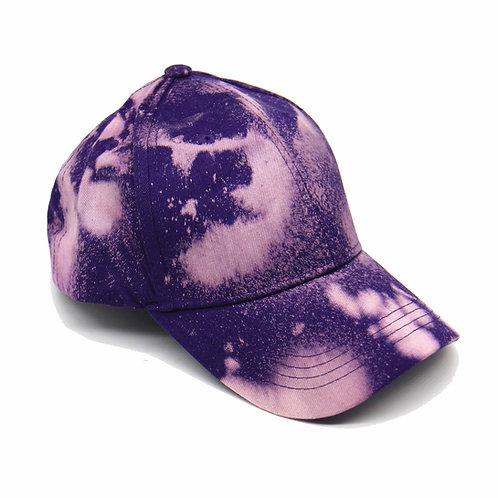 Casquette Tie & Dye Purple