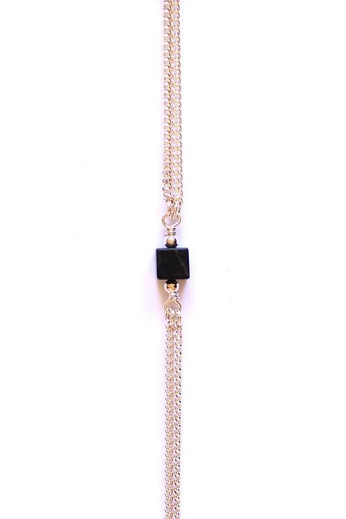 Bracelet CUBE Argent x Black