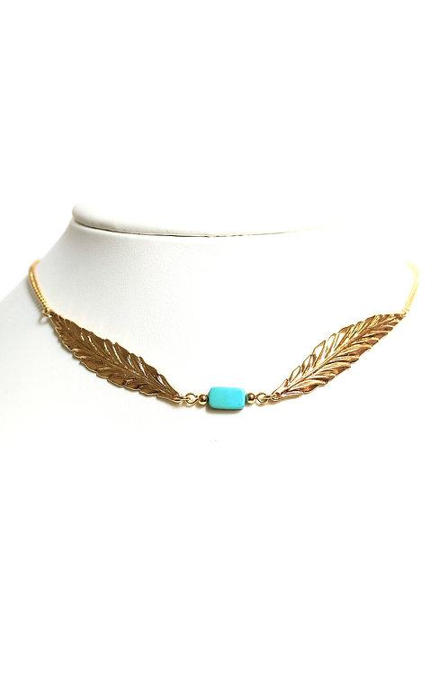 Collier & Headband Plume