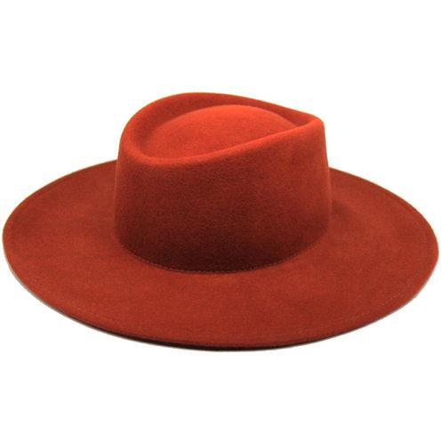 Chapeau Charly Terracotta