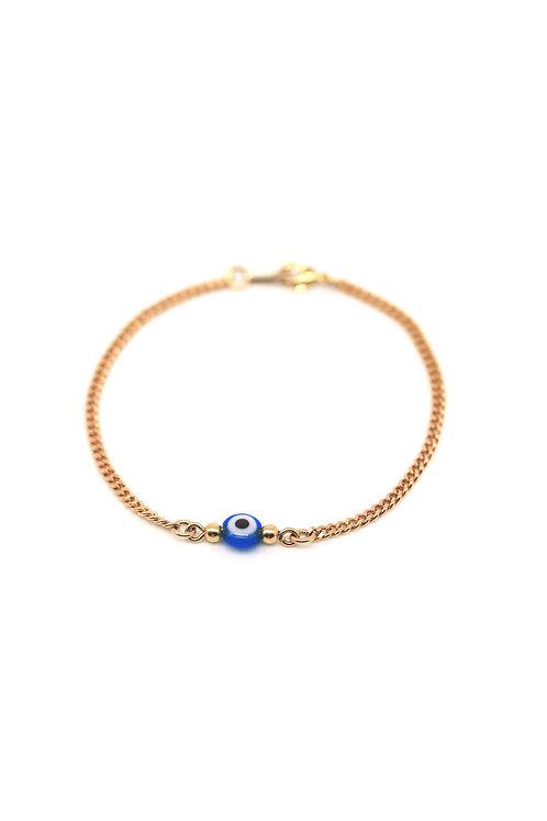 Bracelet Santorin bleu foncé