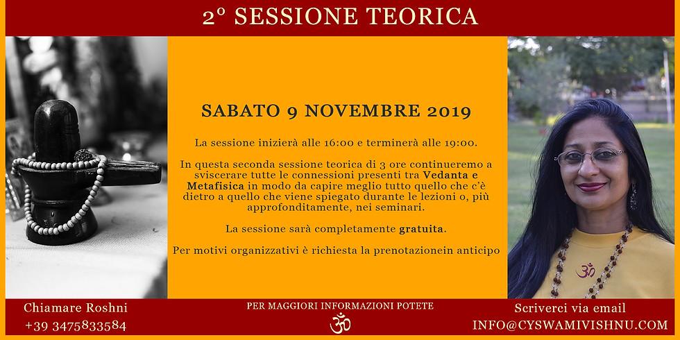2° Sessione Teorica