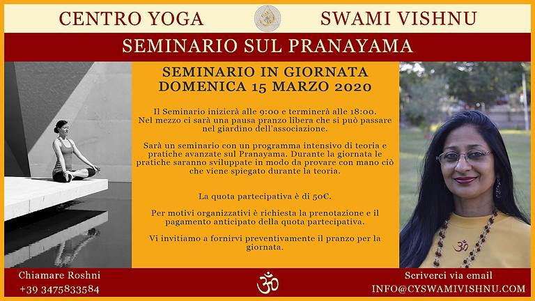 Seminario sul Pranayama
