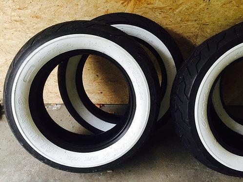 Nye Whitewall dæk