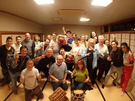 もうすぐお祭り!IzumiさんとKameは富戸神楽保存会に所属しています!