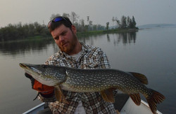Monster Pike on a Critterbait