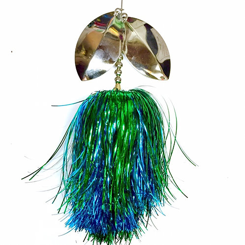 Musky Bucktail Custom Bluegil Lil Weedwacker