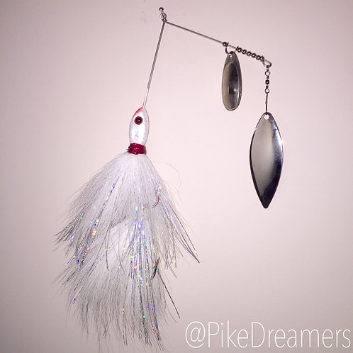 White fish SpinnerBait