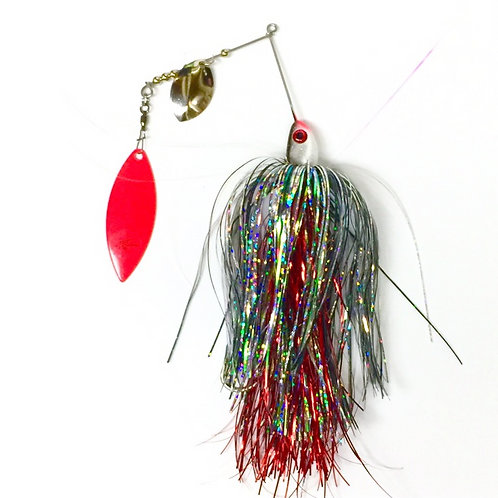 Bloody Crappie SpinnerBait