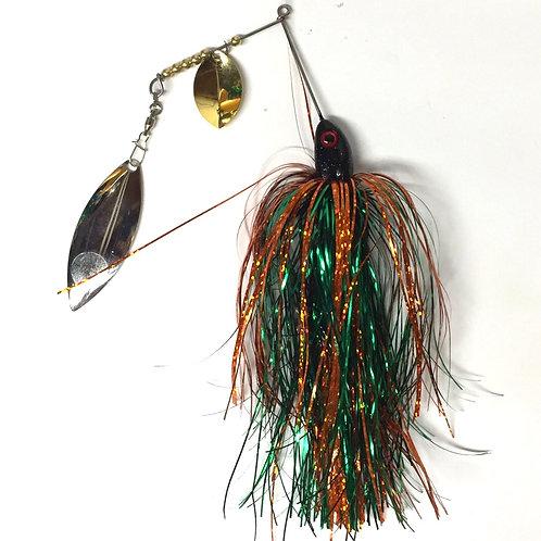Pumpkin Grass SpinnerBait