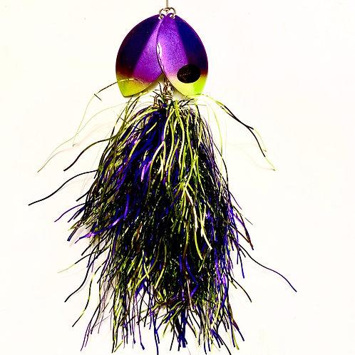 Musky Bucktail Custom Musky-a-goodtime Lil Weedwacker