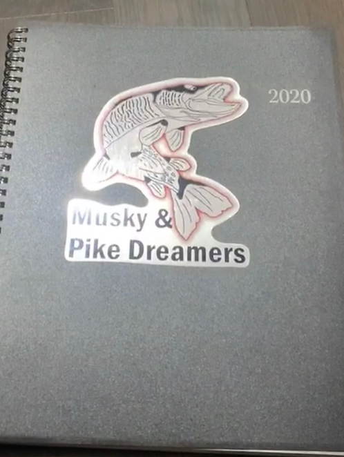 Musky and Pike Dreamers Sticker