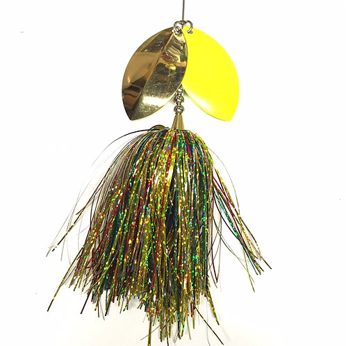 Musky Bucktail Custom Turtle Lil Weedwacker