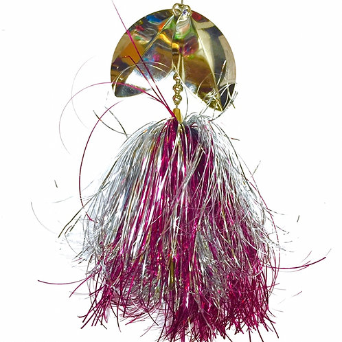 Musky Bucktail Custom Pink Drink Lil Weedwacker