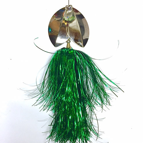 Musky Bucktail Custom T-Rex Lil Weedwacker