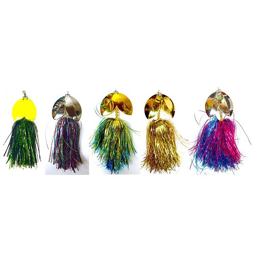 Musky Bucktail Set Medium Little Weedwacker