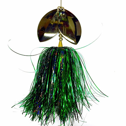 Musky Bucktail Custom Scattering Rice  Lil Weedwacker
