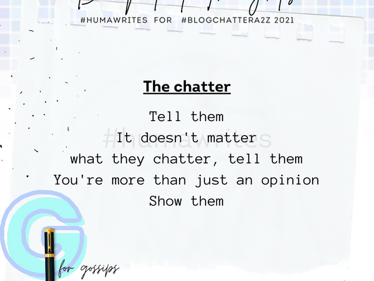 The Chatter - Poem