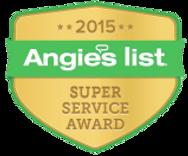 Angies List Service Award, Plumb It Inc. Aurora, IL