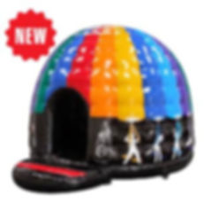 Disco Dome Inflatable, Airtime Inflatables, Elburn, IL