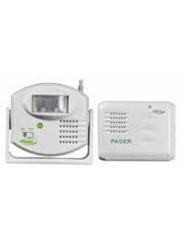 Motion Sensor to Pager Alarm