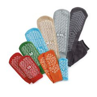 Non Skid Socks - Assorted Sizes and Colors